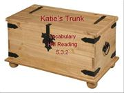 Vocabulary for Katie's Trunk