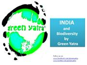 India and Biodiversity by Green Yatra