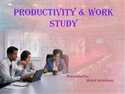 productivity & work study