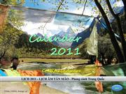 CALENDAR 2011 - TAN MAO - China landscape
