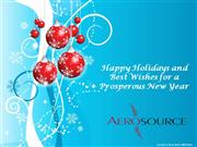 Aerosource 2010 Holiday Card