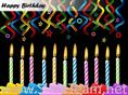 Celebrate Birthday With Candles And Cake