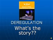 deregulation peco energy