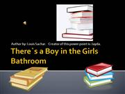 There`s a Boy in the Girls Bathroom