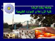 faculty of agriculture bakht-alruda 2010
