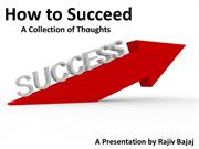 success - a collection of thoughts