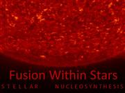 Jack Oughton - Fusion Within Stars