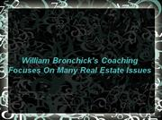 william bronchick coaching