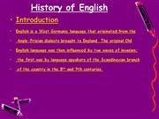 presentation on english language