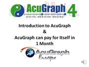 AcuGraph Pays For Itself in 1 Month-b
