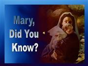 Mary_did_you_know._MArk lowry