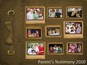 new parent orientation.testimony1