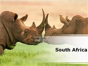 South Africa Country PowerPoint Presentation Content