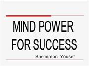 Mind Power for Success