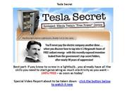 tesla secret