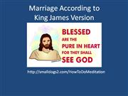 marriage according to king james version