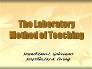 The Laboratory Method of Teaching
