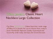 Tiffany Jewelry Classic Heart Necklace Large Collection