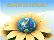 BLOOM BOX ENERGY