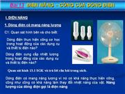 Dien nang  cong cua dong dien