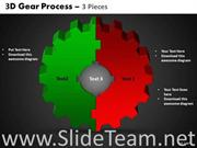 Circular Gear Process PPT Design
