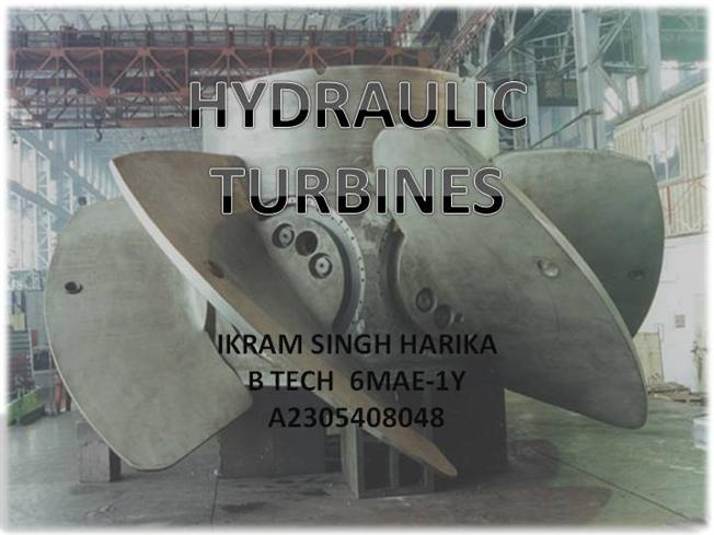 Ppt] on steam turbine.