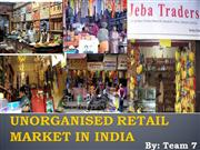 Unorganised indian retail market in india