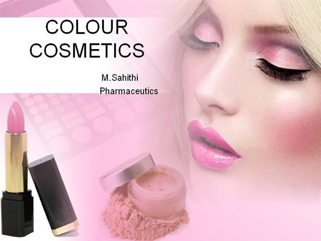 Color Cosmetics Authorstream