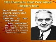 Economics Noble Prize Winners pp