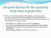 Trade Show Displays-Indianapolis