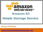 Amazon S3 Review
