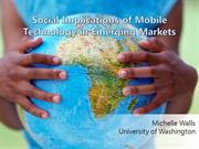 social implications of mobile technology