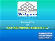 a ethical study on satyam computer scandal