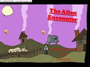 The Alien Encounter first draft timed