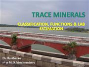 trace minerals- func and estimation 1