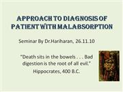 malabsorption