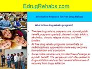 Parents Help by Drug Rehabs Programs