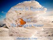 Snow in Russia 1