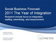 social business forecast