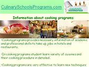 How to Choose Best Cooking Programs