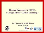 Google Knols and Action Learning