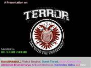 terrorism a threat to humanity