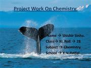 Project Work On Chemistry (ORIGINAL)