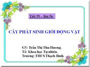 Cay phat sinh gioi dong vat