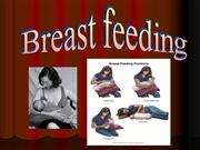 Breast feeding  by Dr Najeeb Pakistan