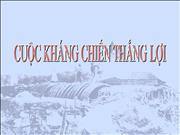 cuoc khang chien thang loi