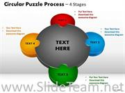 Converging Steps PPT Theme