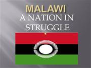 malawi: a nation in struggle
