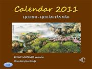 CALENDAR 2011-Zhao Wuchao paintings