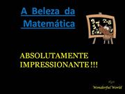 maravilhas da matemtica / wonders of mathematics